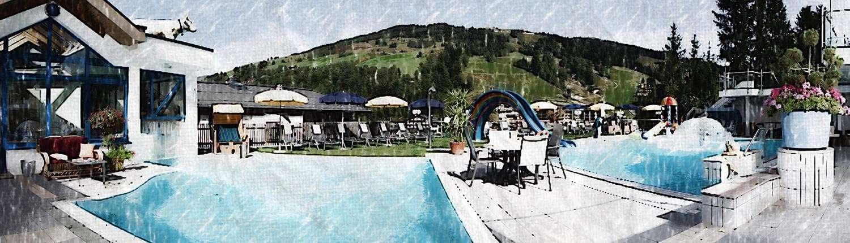 Wellnesshotel Saalbach: Hotel Egger über den Dächern von Hinterglemm