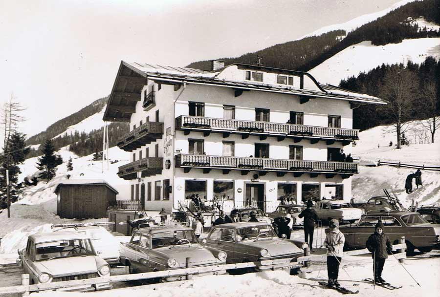 Hotel Egger im Jahre 1963