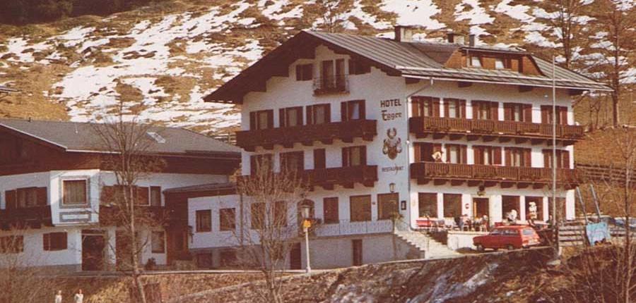 Hotel Egger im Jahre 1969