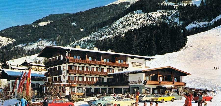 Hotel Egger im Jahre 1974