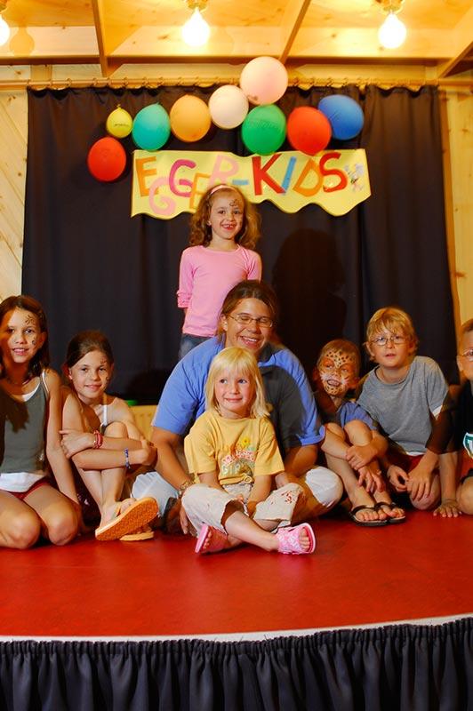 Kinderbetreuung im Kinderhotel Egger in Salzburg