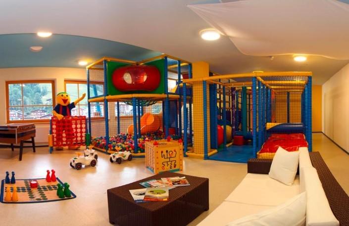 Softplayanlage im Kinderhotel Egger in Saalbach Hinterglemm