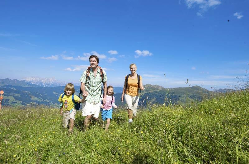 Familienwandern in Saalbach-Hinterglemm