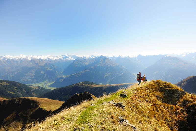 Wunderbare Ausblicke in Saalbach-Hinterglemm