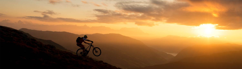 bike_sonnenuntergang