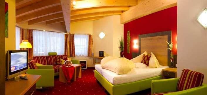 Erkersuite Familienstudio im Hotel Egger Saalbach Hinterglemm