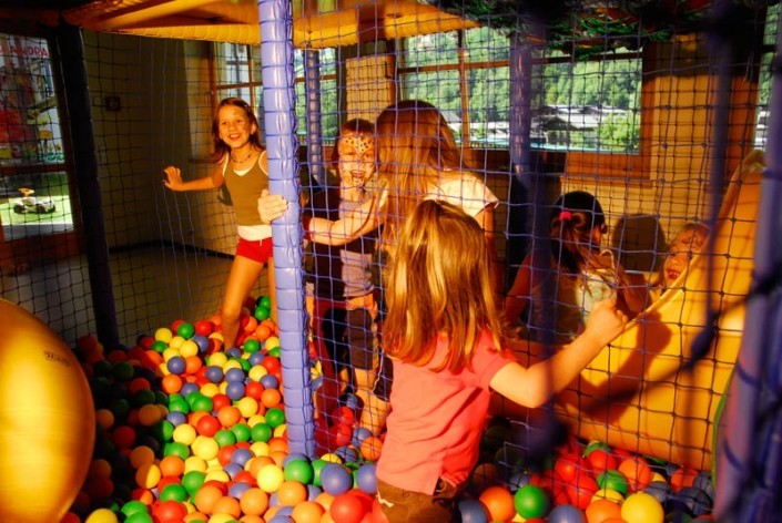 Softplayanlage im Familienhotel Egger Saalbach Hinterglemm