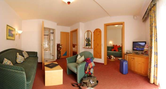 Familienstudio im Hotel Egger Saalbach Hinterglemm