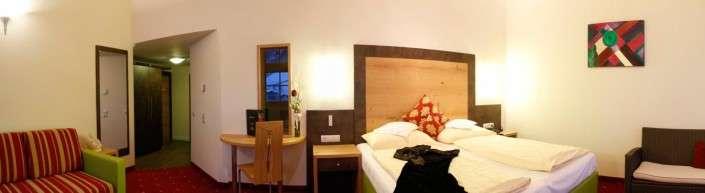 Juniorsuite Typ 1e im Hotel Egger Saalbach Hinterglemm