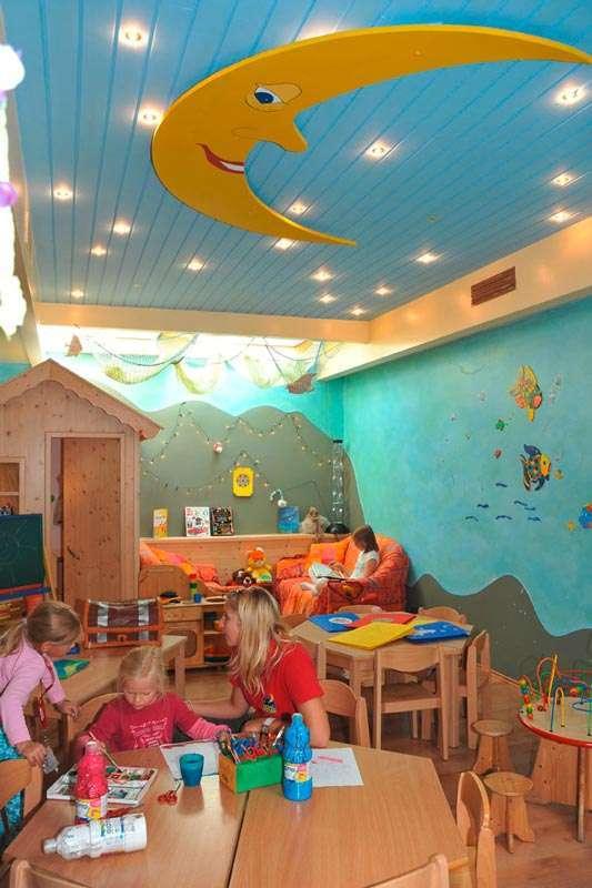 Kindergarten im Kinderhotel Egger Saalbach Hinterglemm