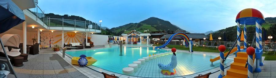 Eggers Bade- & Wellnessoase über den Dächern von Saalbach