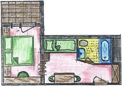 kleines familienzimmer f r ihren urlaub in sterreich ihr familienhotel egger. Black Bedroom Furniture Sets. Home Design Ideas