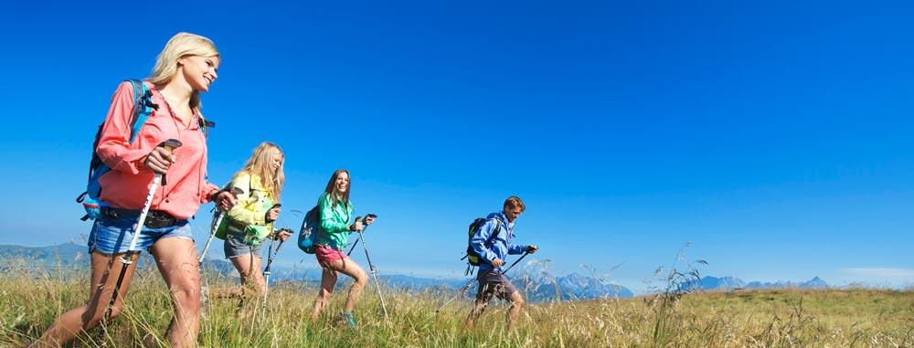 Wandern in den österreichischen Alpen: Ihre Unterkunft für Ihren Wanderurlaub