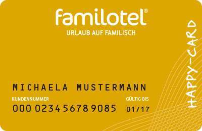 Familotel Happy Card Gold