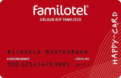 Familotel Happy Card Rot